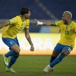 Kết quả Brazil 1-0 Chile: Selecao vào bán kết Copa dù thiếu người