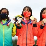 Nữ VĐV 13 tuổi đi vào lịch sử thể thao Nhật Bản với HCV Olympic