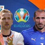 Trực tiếp Anh vs Ý, 2h ngày 12/7 - Chung kết EURO 2020