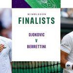 Trực tiếp Djokovic vs Berrettini, chung kết Wimbledon 2021