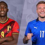 Trực tiếp Ý vs Bỉ - Tứ kết Euro 2021
