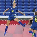 Kết quả Bóng đá nữ Olympic 2021: Thụy Điển tranh HCV với Canada