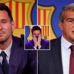 Barca mất 137 triệu euro vì chia tay Messi