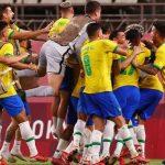 Kết quả bóng đá nam Olympic: Brazil vào chung kết sau loạt đấu súng