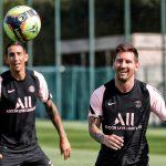 Messi và hình ảnh cực 'độc' tập buổi đầu tiên ở PSG