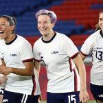 Trực tiếp Bóng đá nữ Olympic 2020 Mỹ vs Canada 15h ngày 2/8