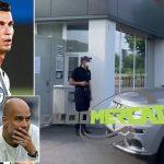 Ronaldo đến sân tập chia tay các đồng đội Juventus, thẳng tiến Man City