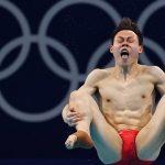 Những biểu cảm khó đỡ của VĐV nhảy cầu Olympic Tokyo